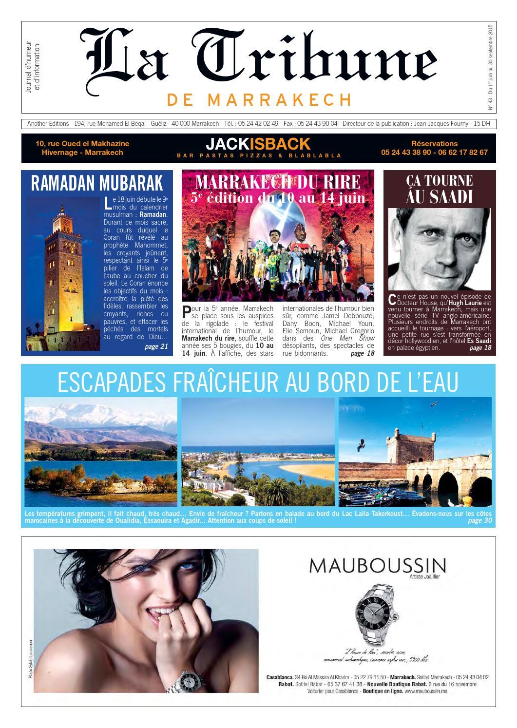 92e6c2c17ebf1a TDM43 by La Tribune de Marrakech - issuu
