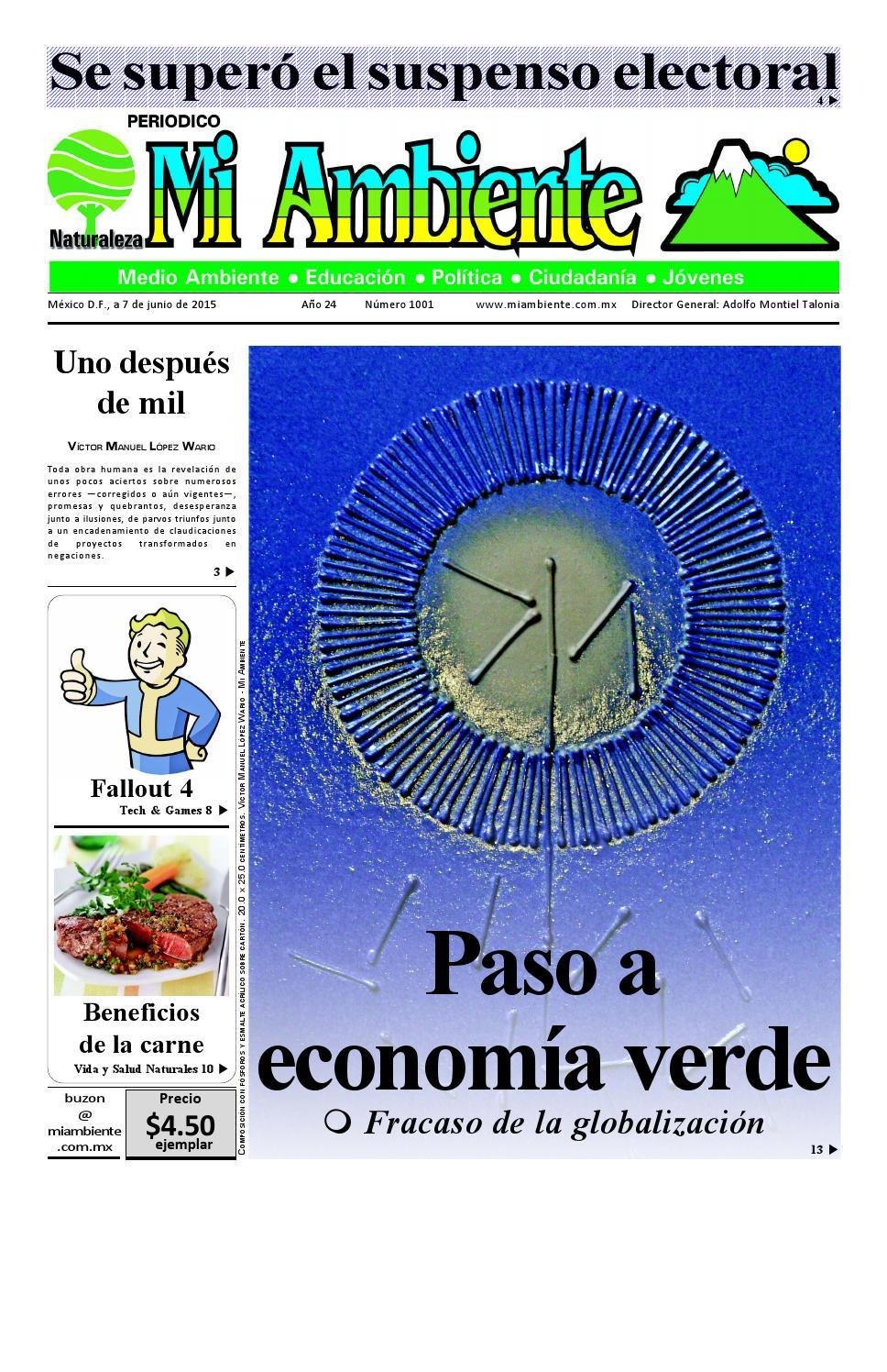 Mi Ambiente 1001 by Editorial Nuestra - issuu