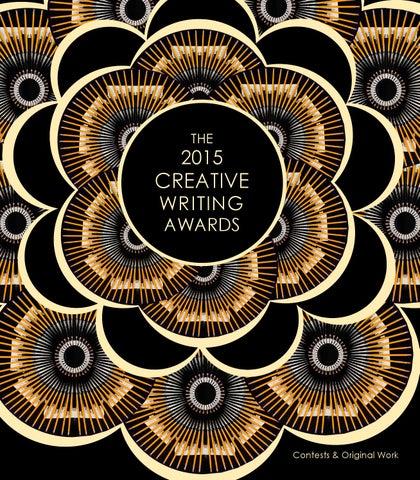a42338197c7 TCU Creative Writing Awards 2015 by TCU English Department - issuu