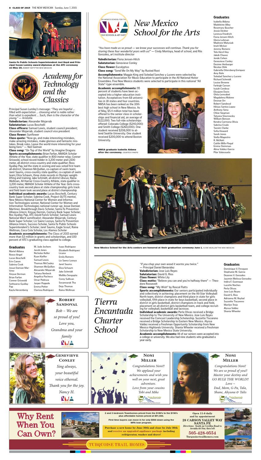Angelica Sofia Saenz graduate section 2015the new mexican - issuu