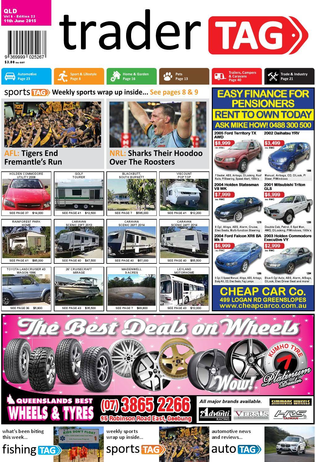Tradertag Queensland Edition 23 2015 By Design Issuu Chain Timing Tensioner Gear For Mitsubishi Pajero Pickup Triton