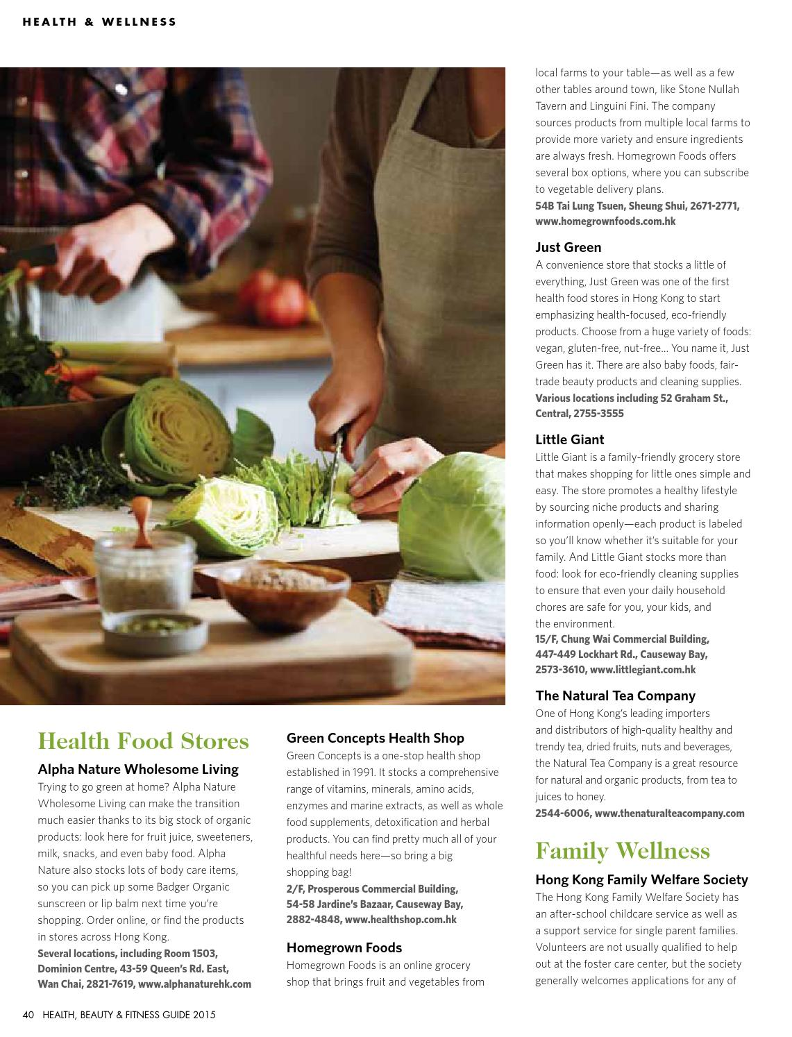 The List Health, Beauty & Fitness Guide 2015 by The List