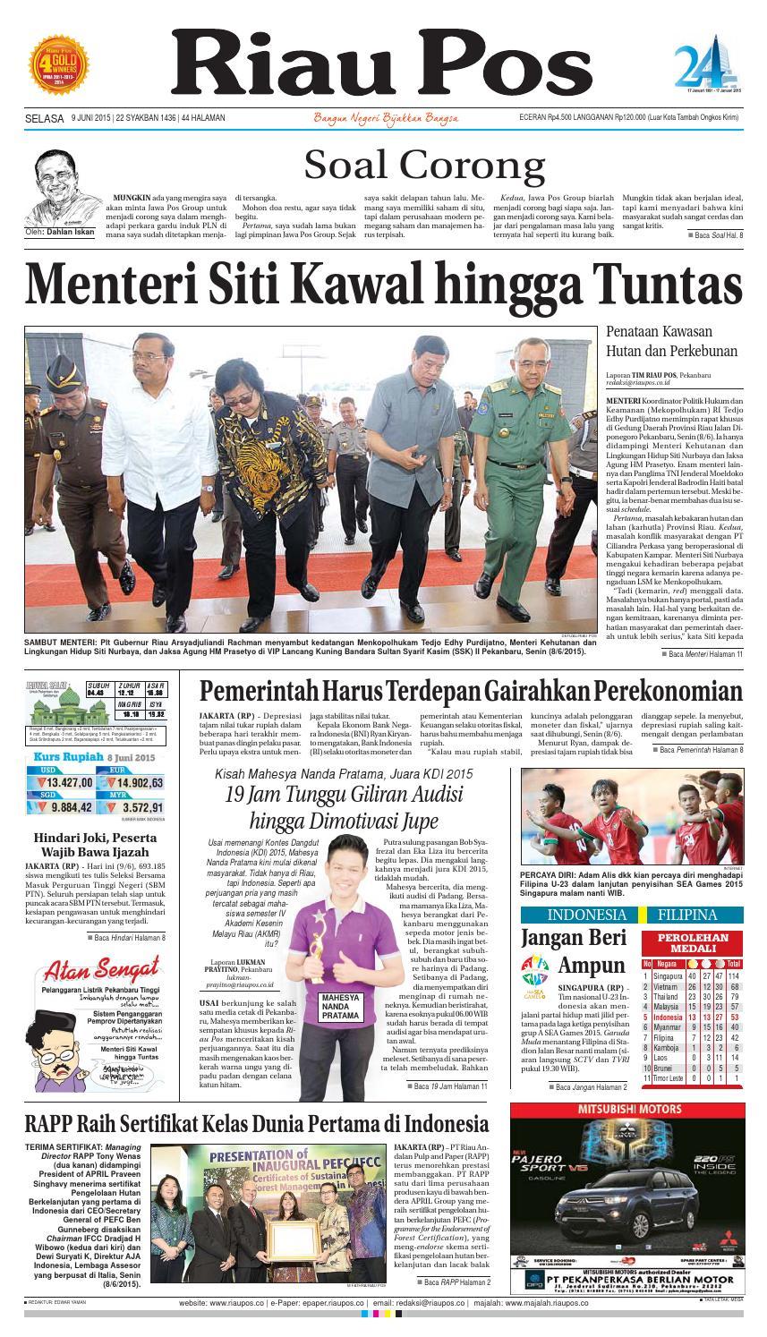 Riau Pos By Issuu Produk Umkm Bumn Bolu Gulung Hj Enong