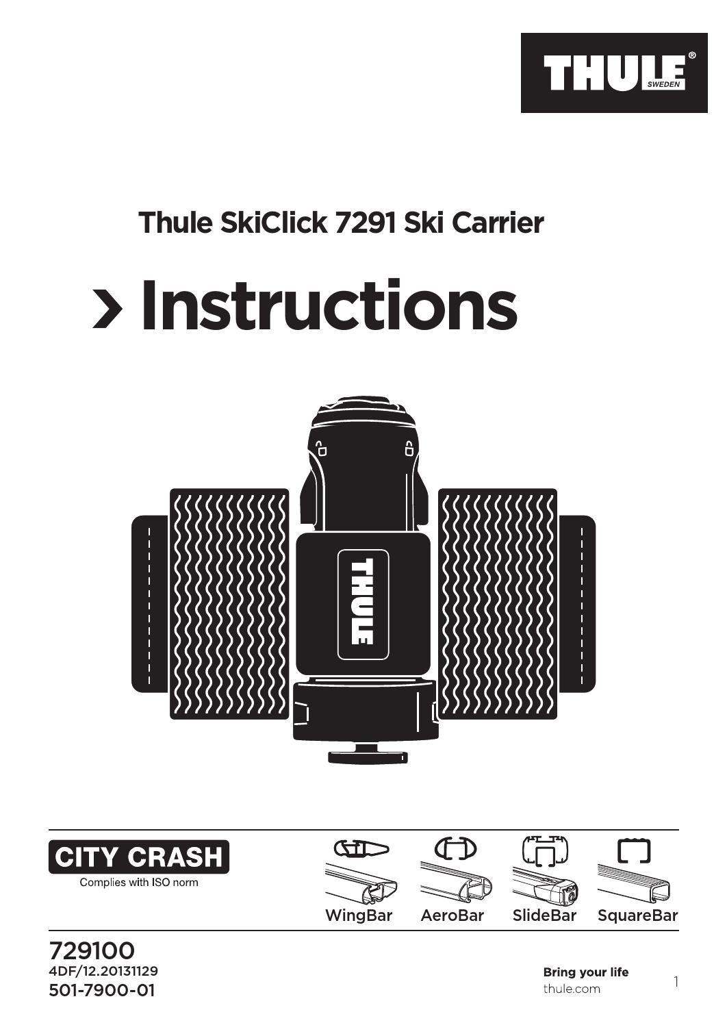 Thule 729100 SkiClick