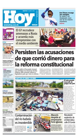fc0dfb6025 Periódico martes 09 de juni, 2015 by Periodico Hoy - issuu