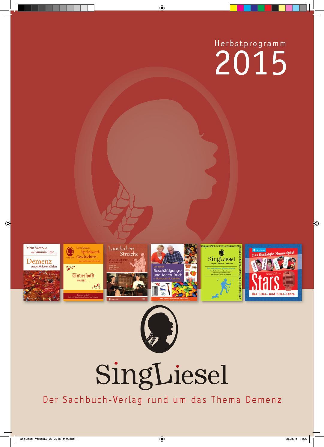 Singliesel vorschau herbst 2015 by SingLiesel - issuu