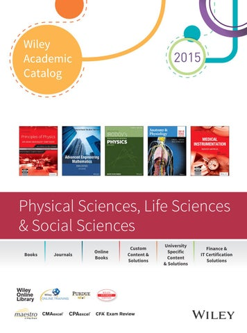 Wiley academic catalog physical sciences life sciences social page 1 fandeluxe Gallery
