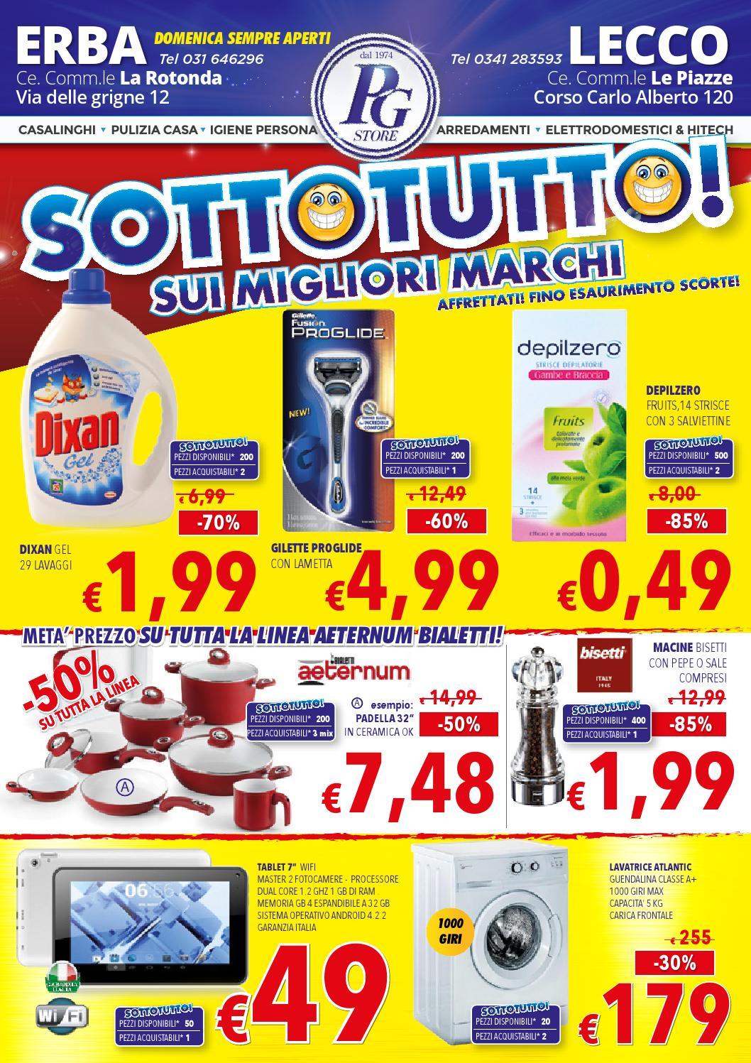 Sottotutto sui migliori marchi by pg store issuu for Pg arredamenti erba