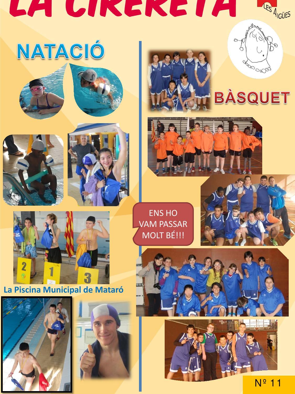 Revista n 11 by pilar navarro issuu - Piscina municipal mataro ...