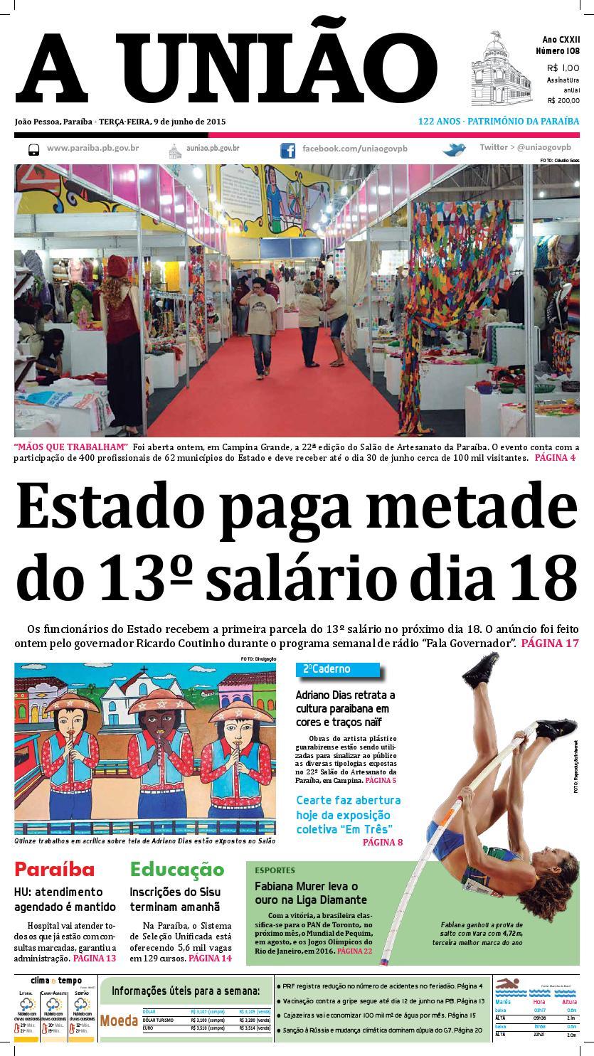 Jornal A União - 09 06 2015 by Jornal A União - issuu 4597ea289df18