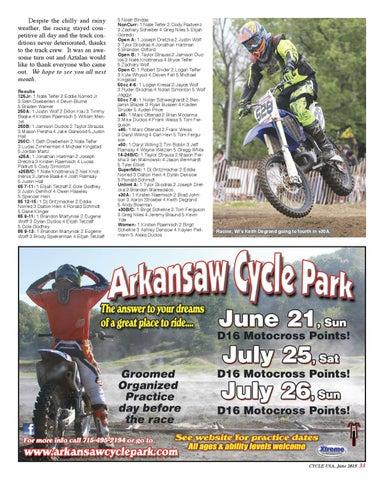 Cycle USA June 2015