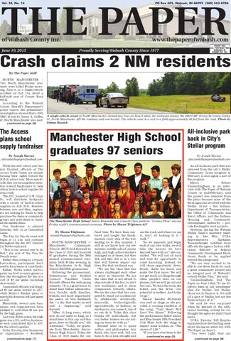 The Paper of Wabash County - June 10, 2015 Issue by The
