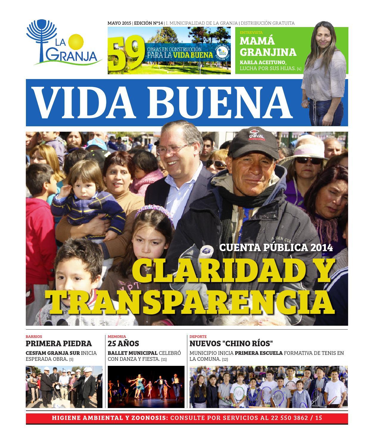 Diario mayo 2015 by Municipalidad La Granja - issuu f81c67e40366f