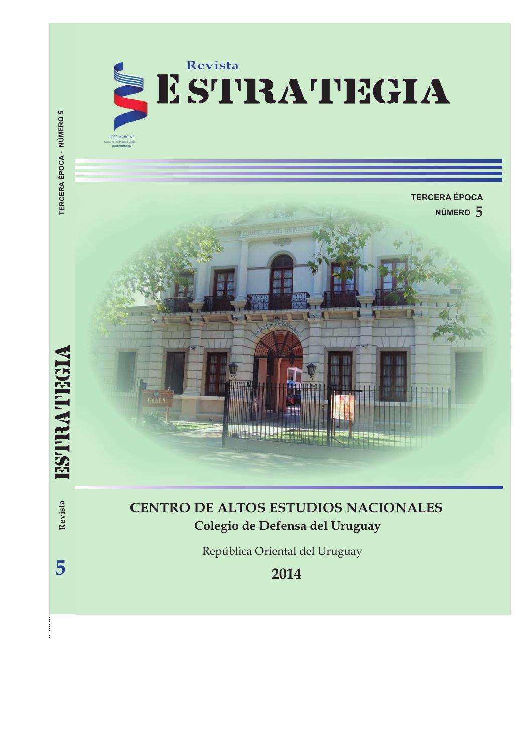 Revista Estrategia N° 5 (2014) by Centro de Altos Estudios ...