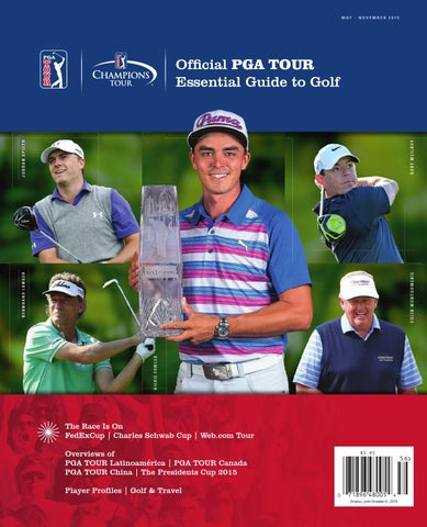 b2dc94a5c1f Page 1. MAY - NOVEMBER 2015. Official PGA TOUR Essential Guide to Golf