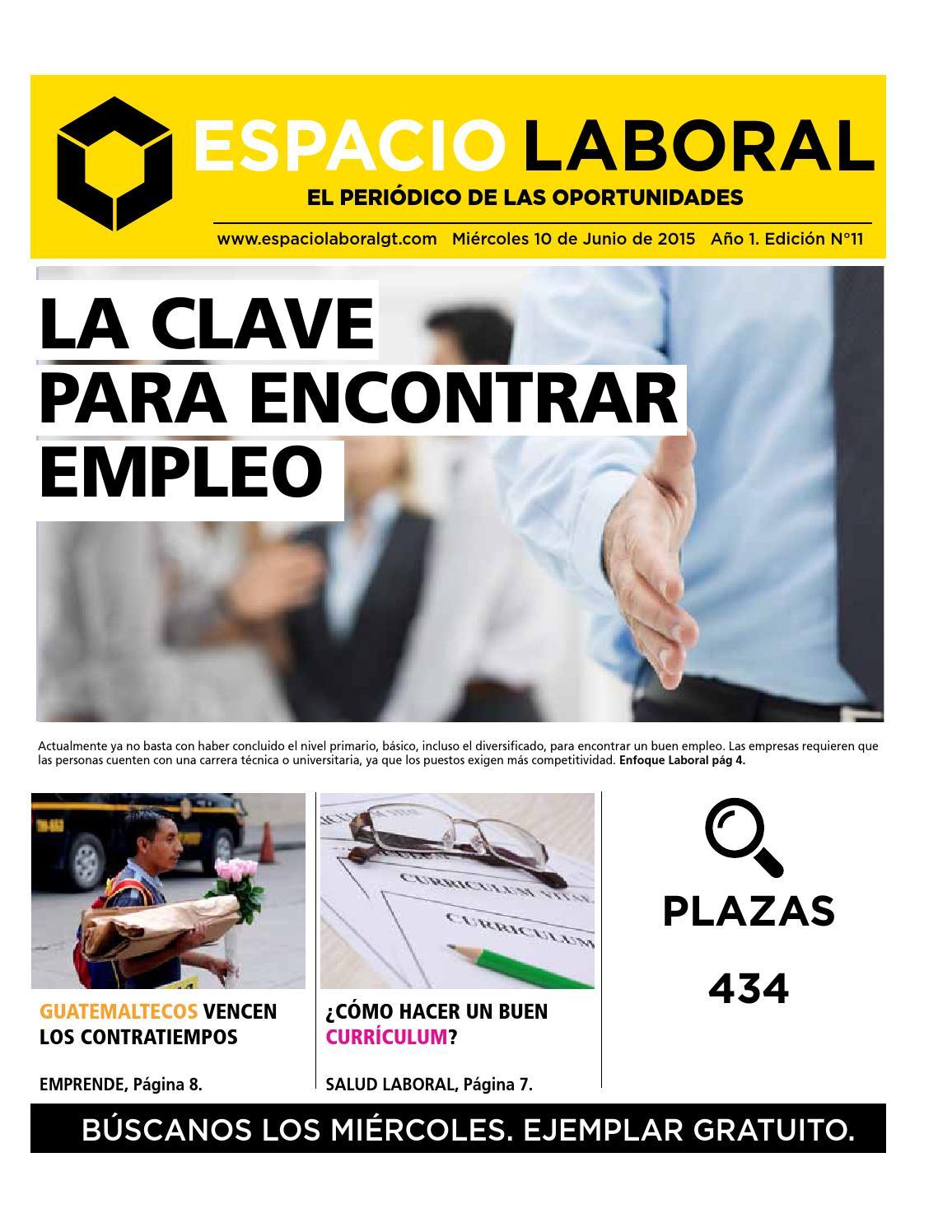 La clave para encontrar empleo by Espacio Laboral - issuu