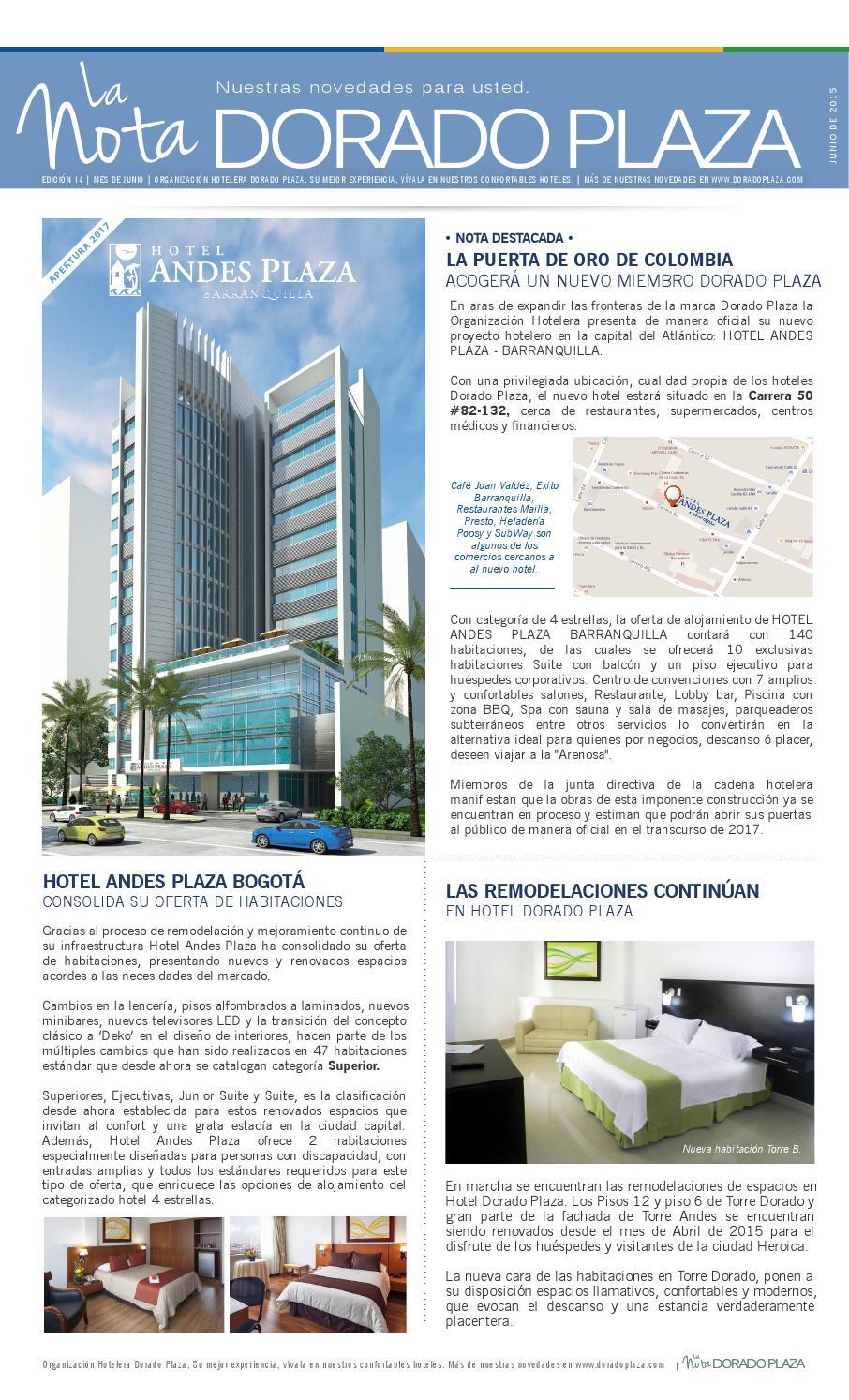 Alojamiento Cuarto Hosprdaje Hotel Andes Plaza Carnaval Barranquillsa 2020
