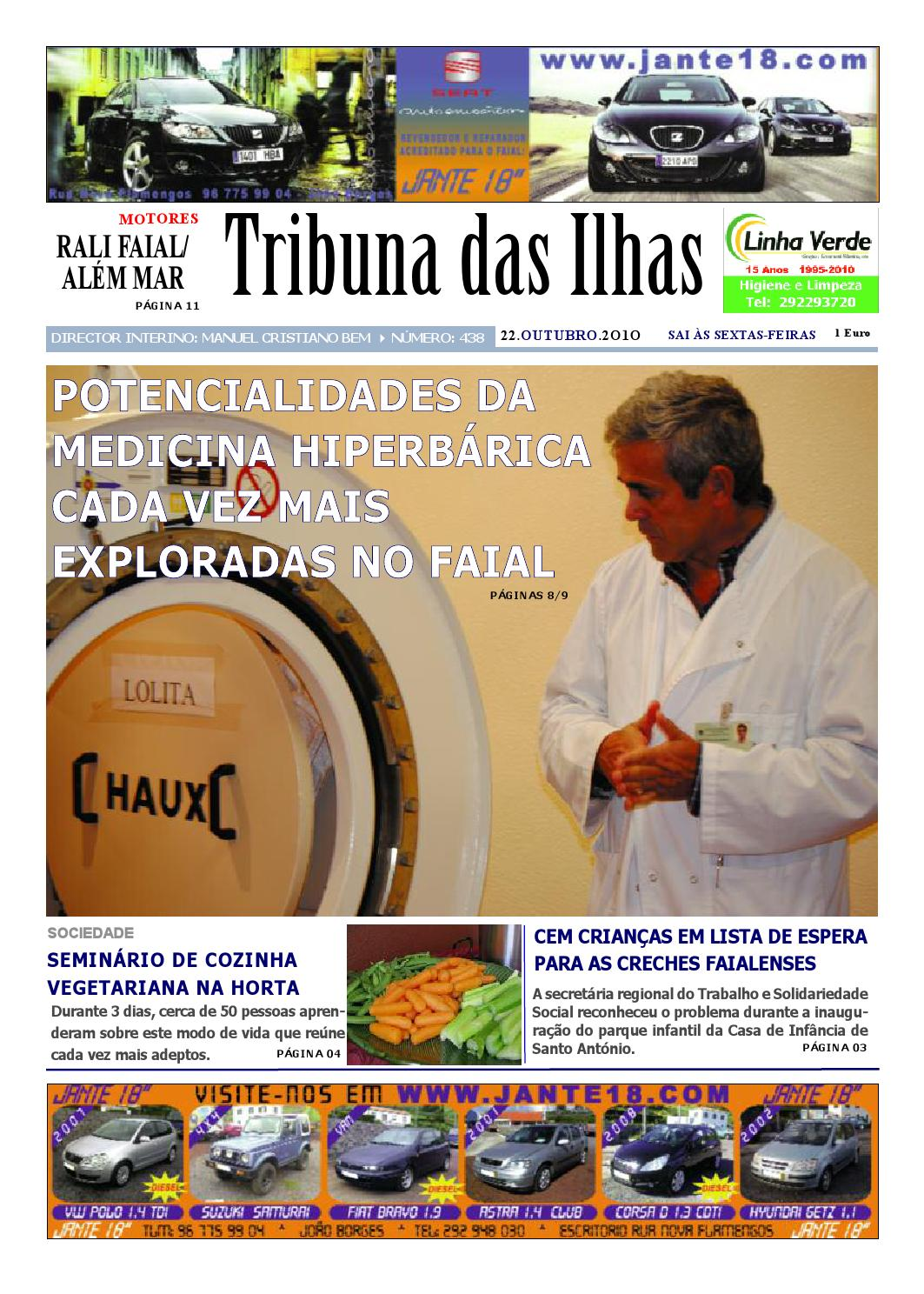 22-10-2010 by Tribuna das Ilhas - issuu d85ccb121067f