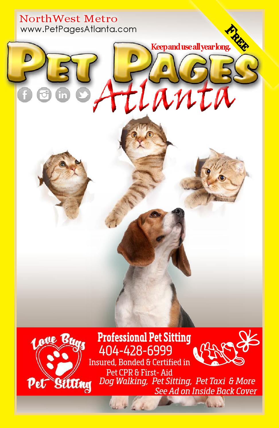 West Metro Atlanta Pet Pages 2015 by Pet Pages Atlanta - issuu