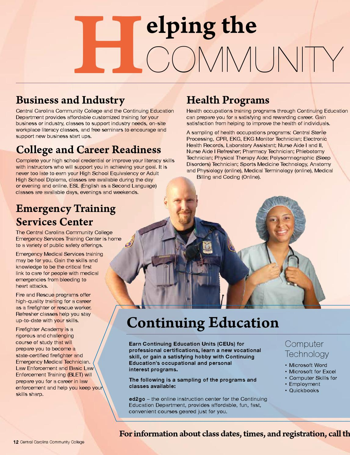 Education That Works by Central Carolina Community College - issuu