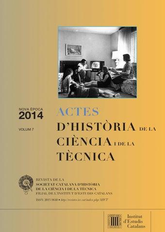 Actes d'Història de la Ciència i de la Tècnica by Institut d
