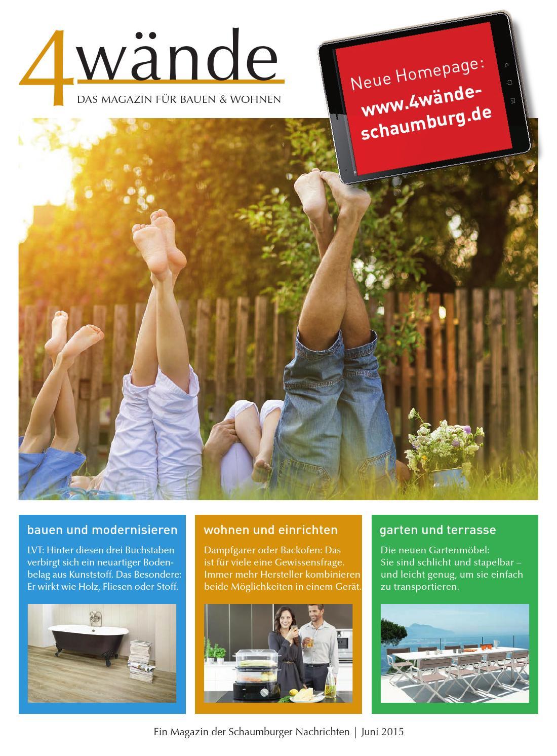 4 w nde das magazin f r bauen und wohnen by schaumburger. Black Bedroom Furniture Sets. Home Design Ideas