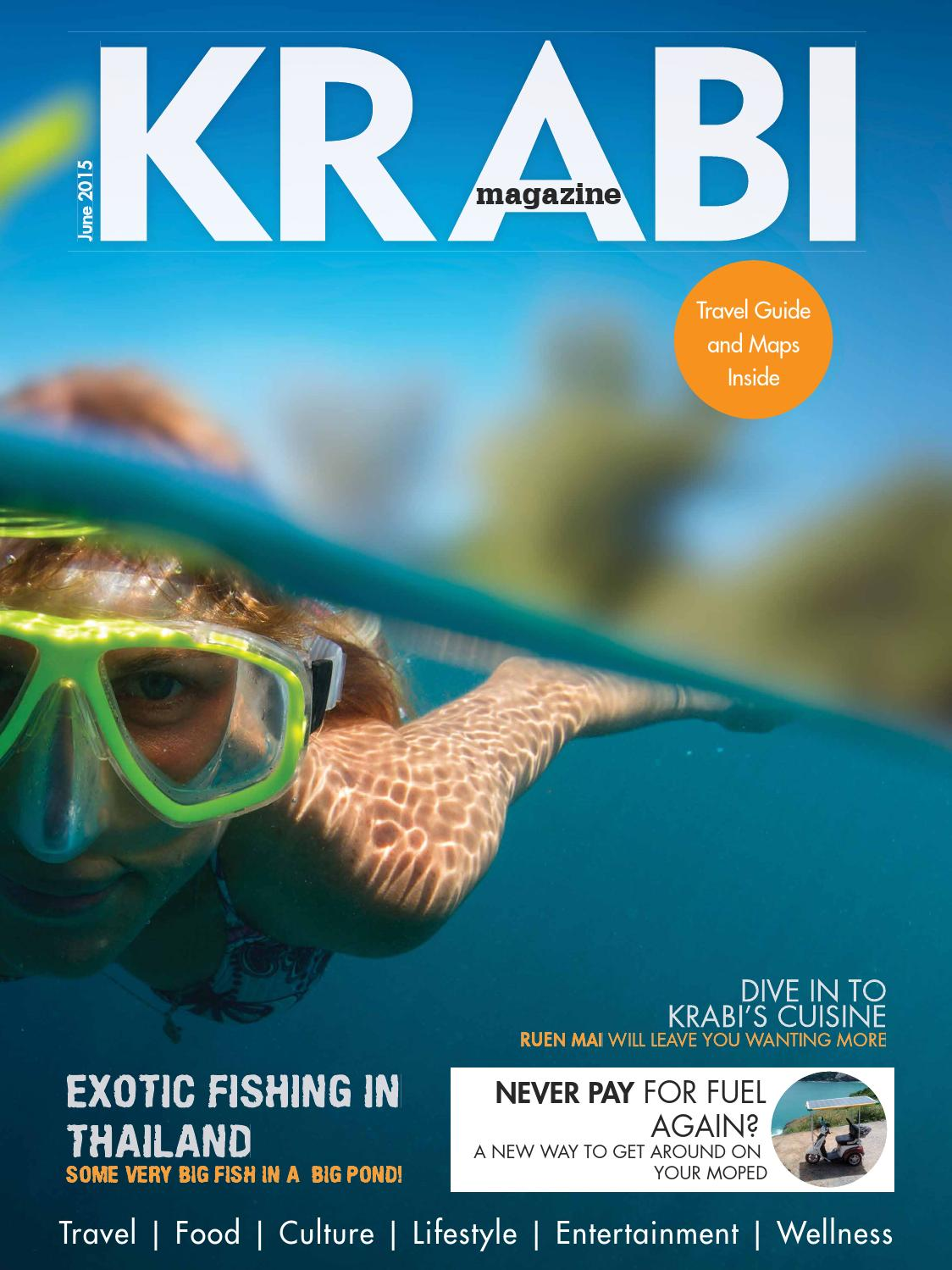 Krabi Magazine June 2015 By Kitdee Media Design Co Ltd