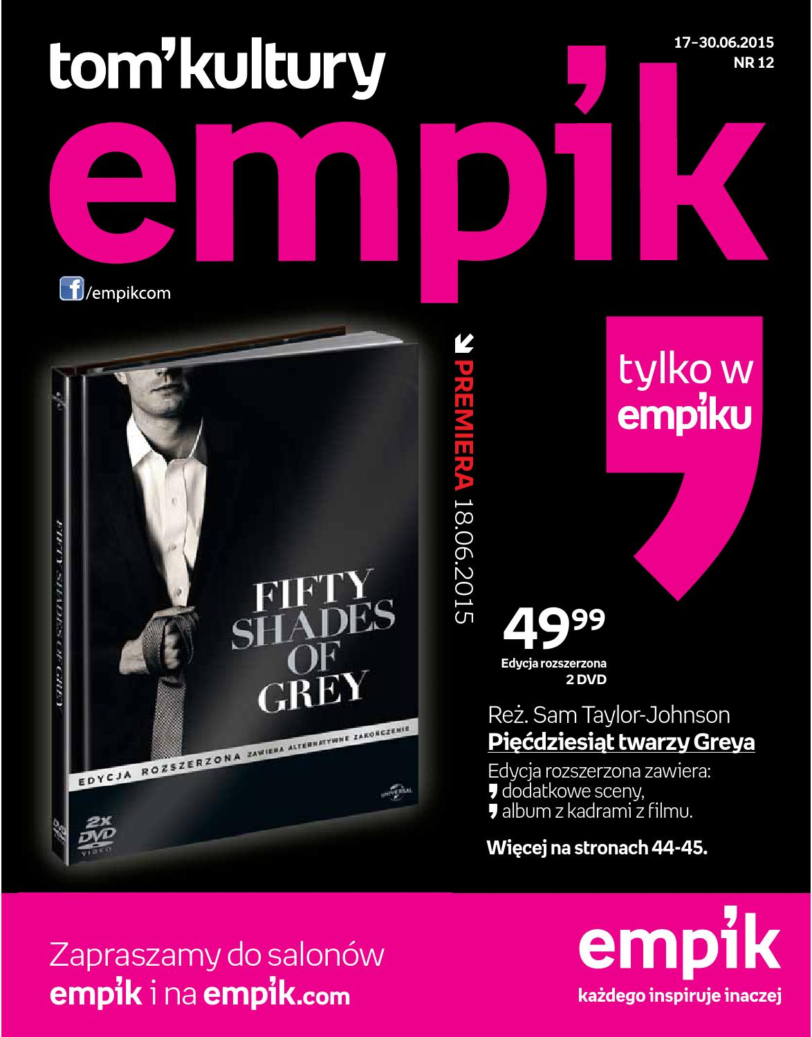 Tom Kultury Nr 12 2015 By Empik Issuu