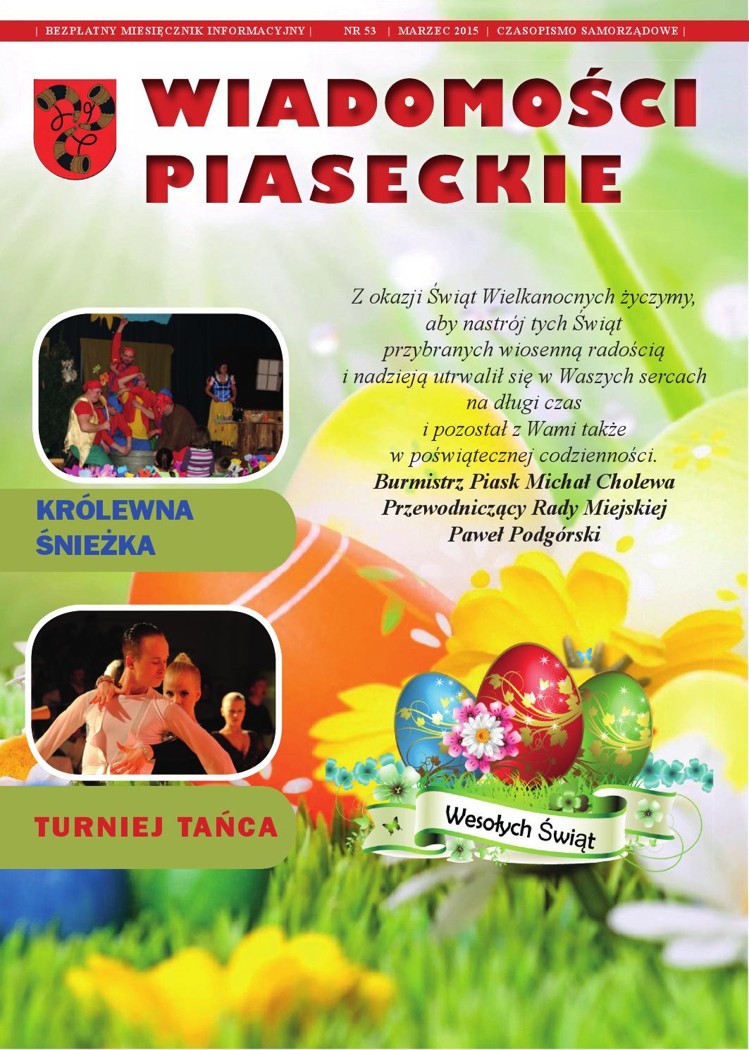 Wiadomości Piaseckie Marzec 2015 By Umpiaski Issuu