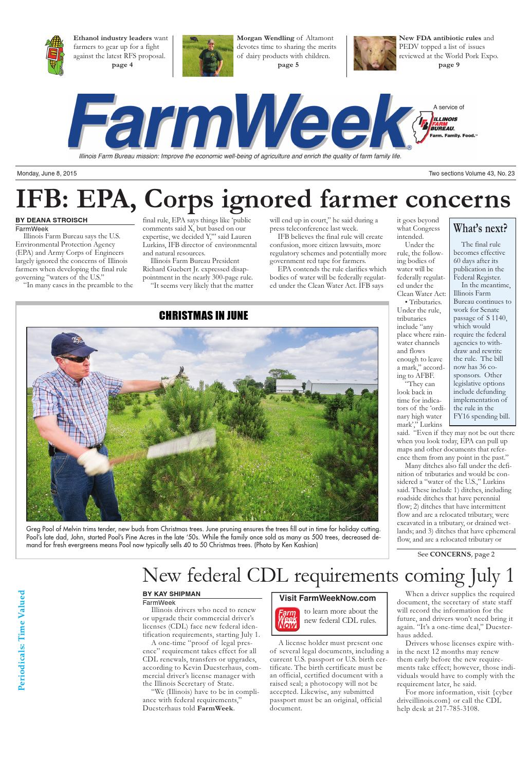 Farmweek june 8, 2015 by Illinois Farm Bureau - issuu