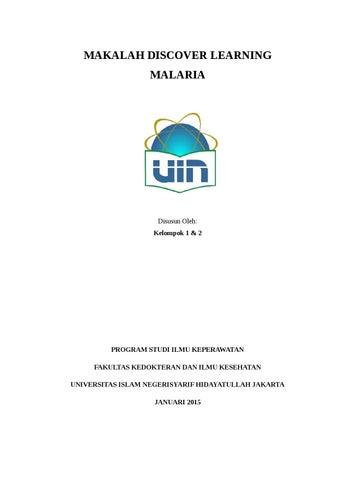 Makalah Malaria By Departemen Pendidikan Penelitian Hmpsik Uin Jakarta Issuu