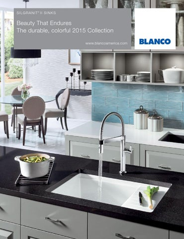 2015 Blanco Silgranit Sink Brochure By Blanco Issuu