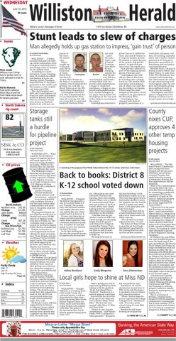 Back pages williston nd