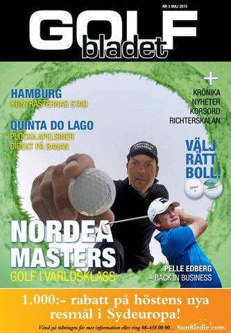 ae43b5e177a Golfbladet 2015/3 by Fredrik Richter - issuu