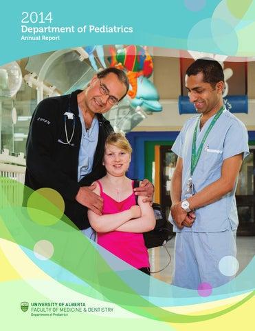 Department of Pediatrics Annual Report - 2014 by University