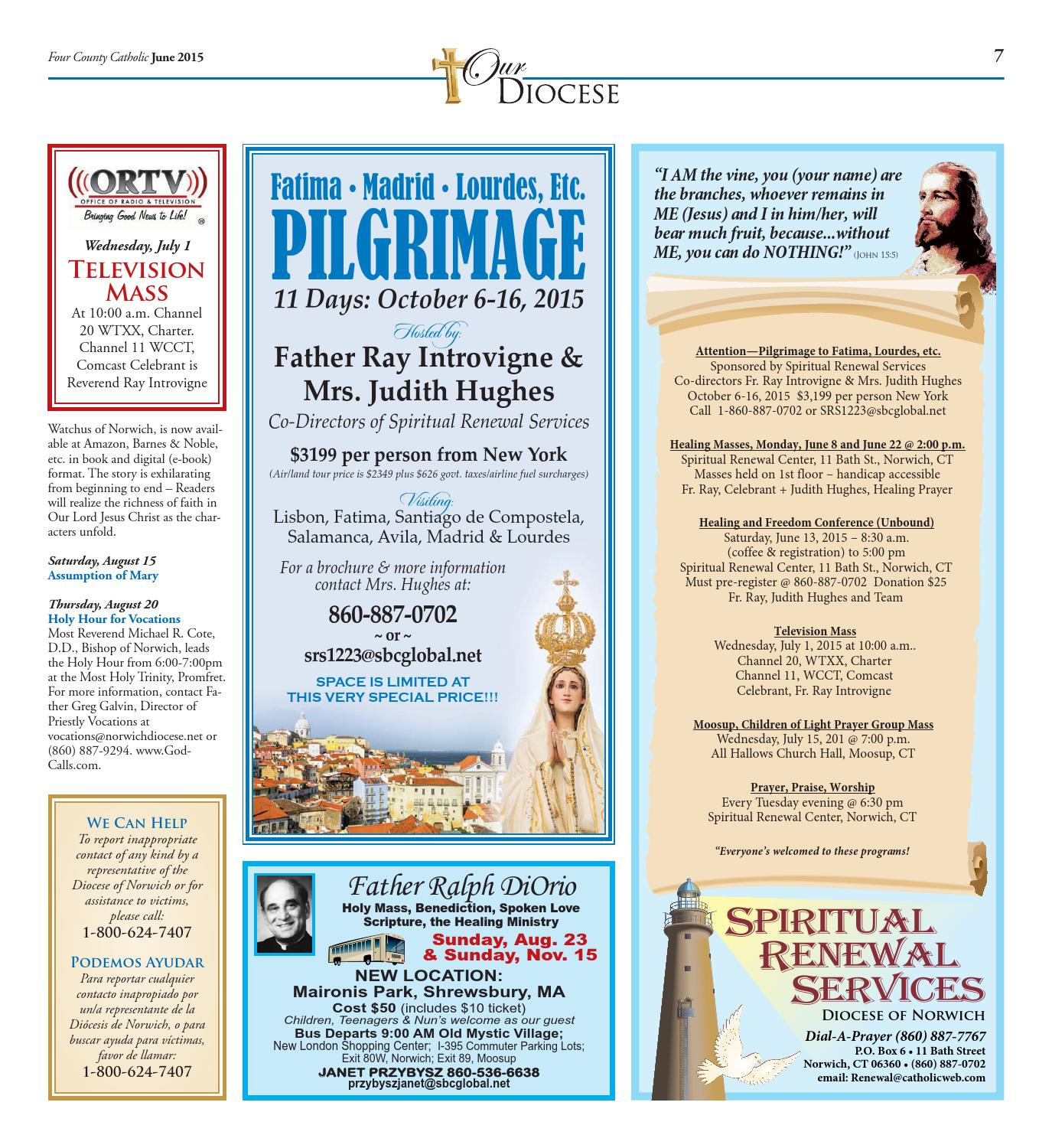 Four County Catholic June 2015 by Diocese of Norwich - issuu