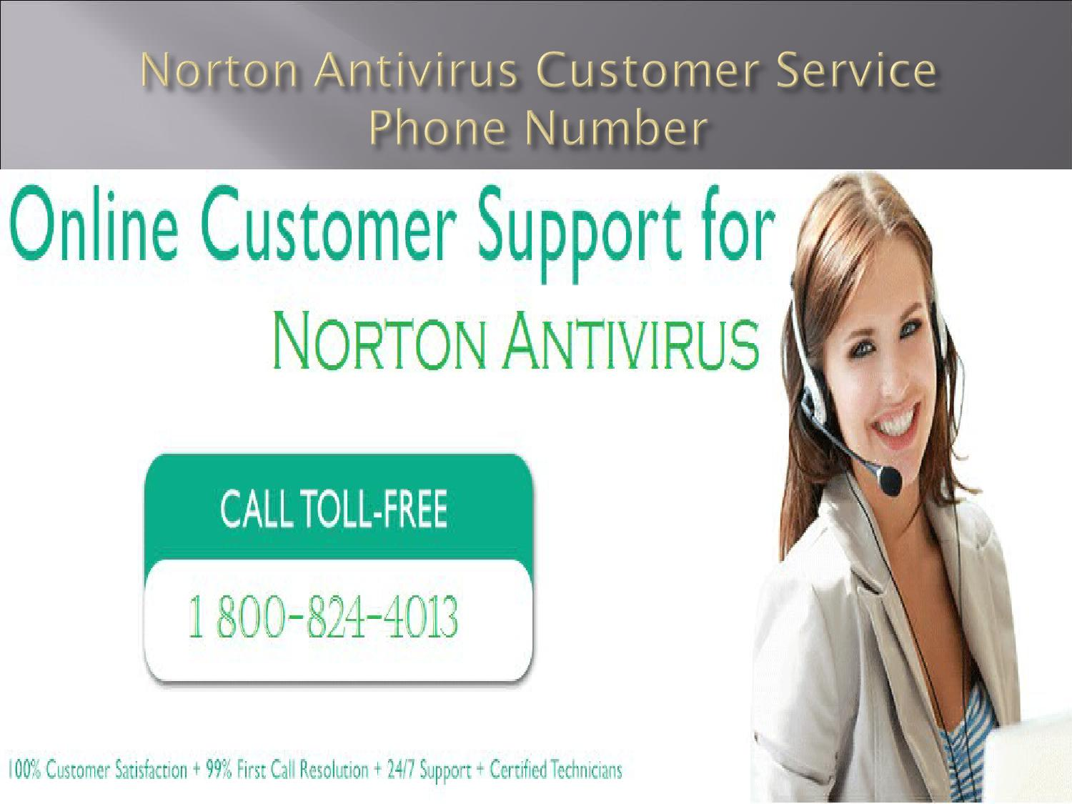 Helpline 1 800 824 4013 Norton Antivirus Customer Service