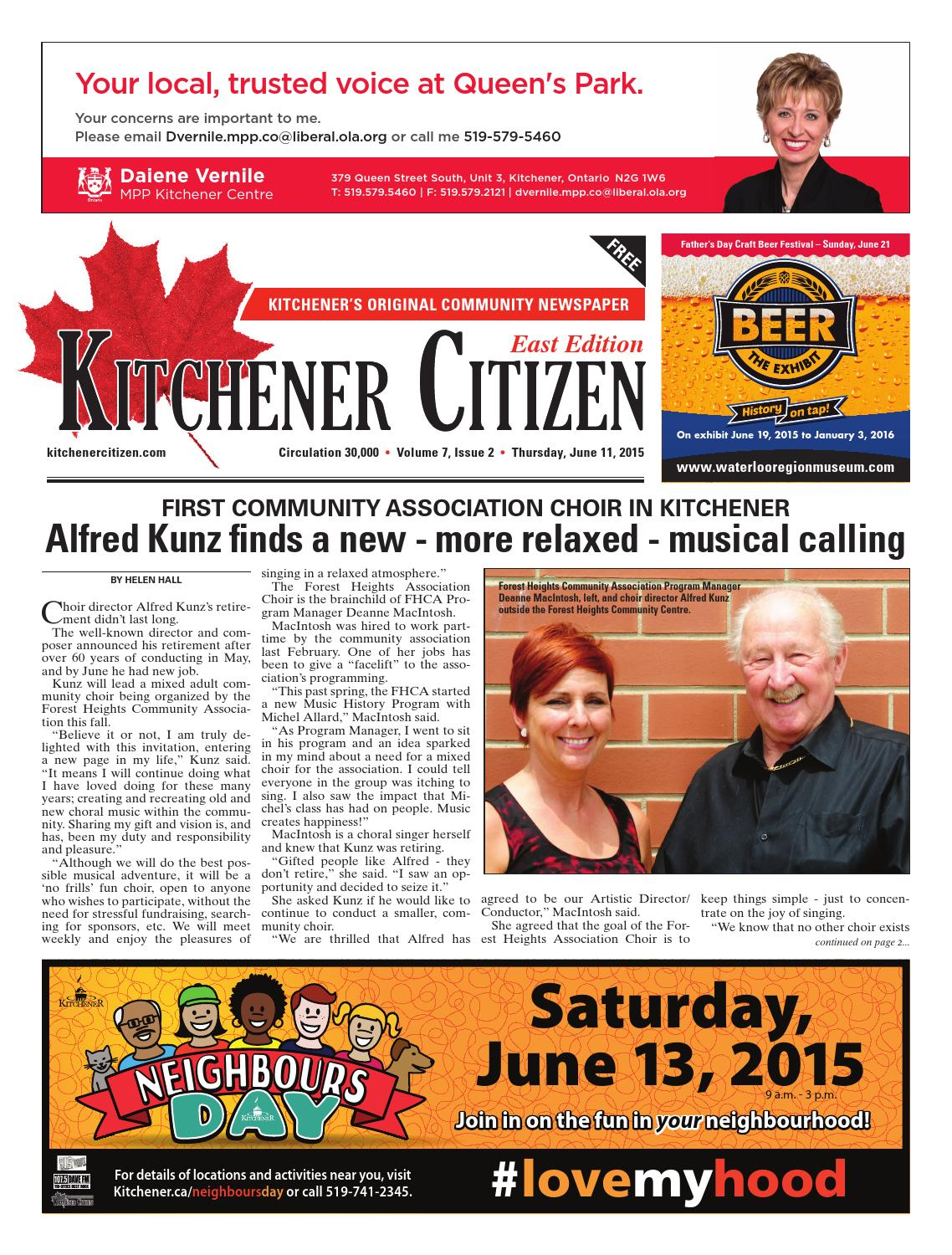 Kitchener Citizen - East Edition - June 2015 by Kitchener Citizen ...