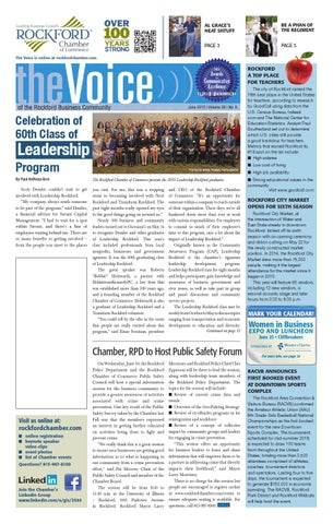 June Voice 2015 By Rockford Chamber Of Commerce Issuu