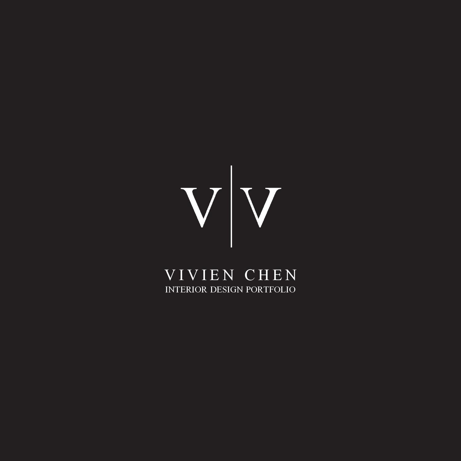 Vivien chen interior design portfolio by vivien chen issuu for Interior design names