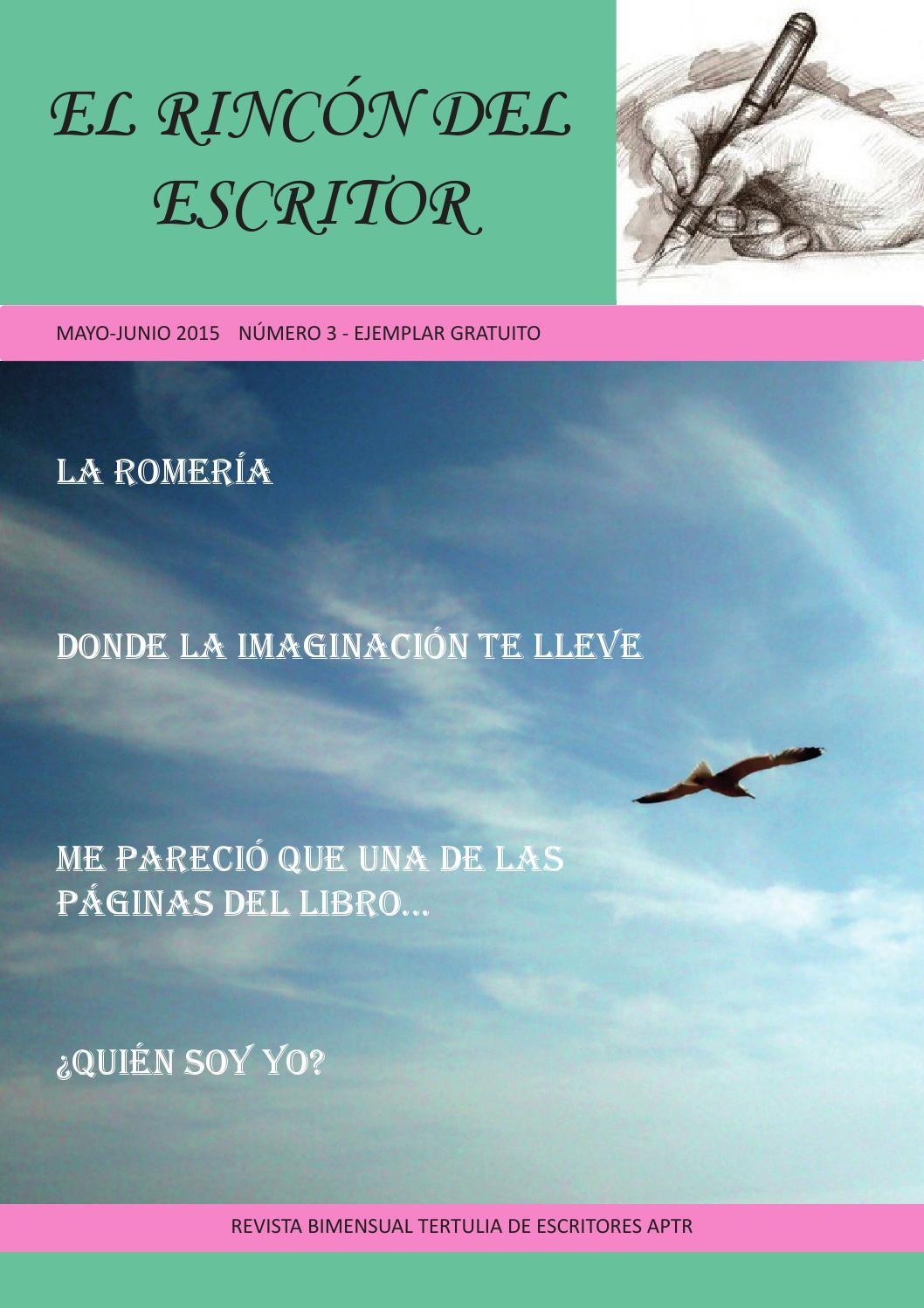 El Rincón del Escritor 03 by EL RINCÓN DEL ESCRITOR - issuu