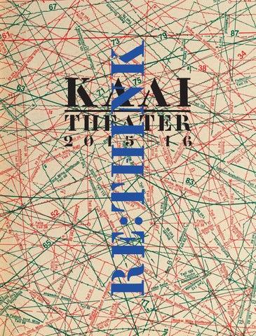 Kaaitheater Seizoensmagazine 2015 16 By Kaaitheater Issuu