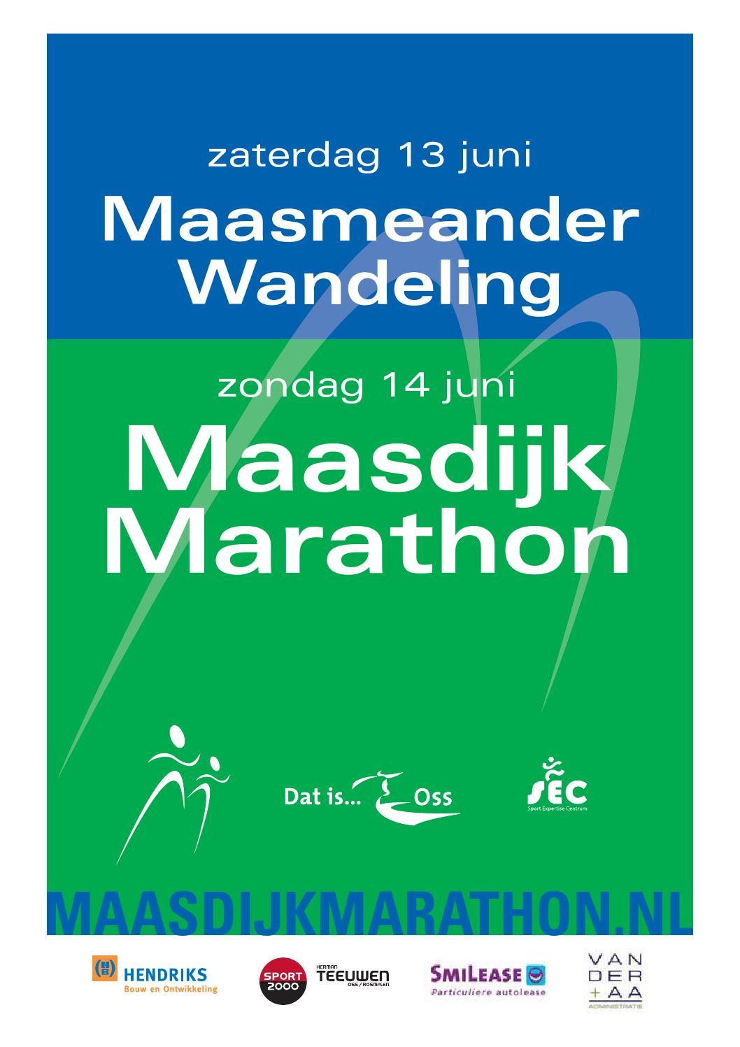 Maasdijk Marathon Week 24 2015 By Uitgeverij Talvi Issuu