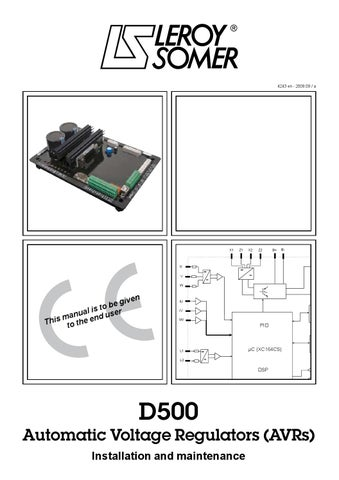 D500 intsallation maintenance manual 4243c en by thienlv01 issuu page 1 asfbconference2016 Images