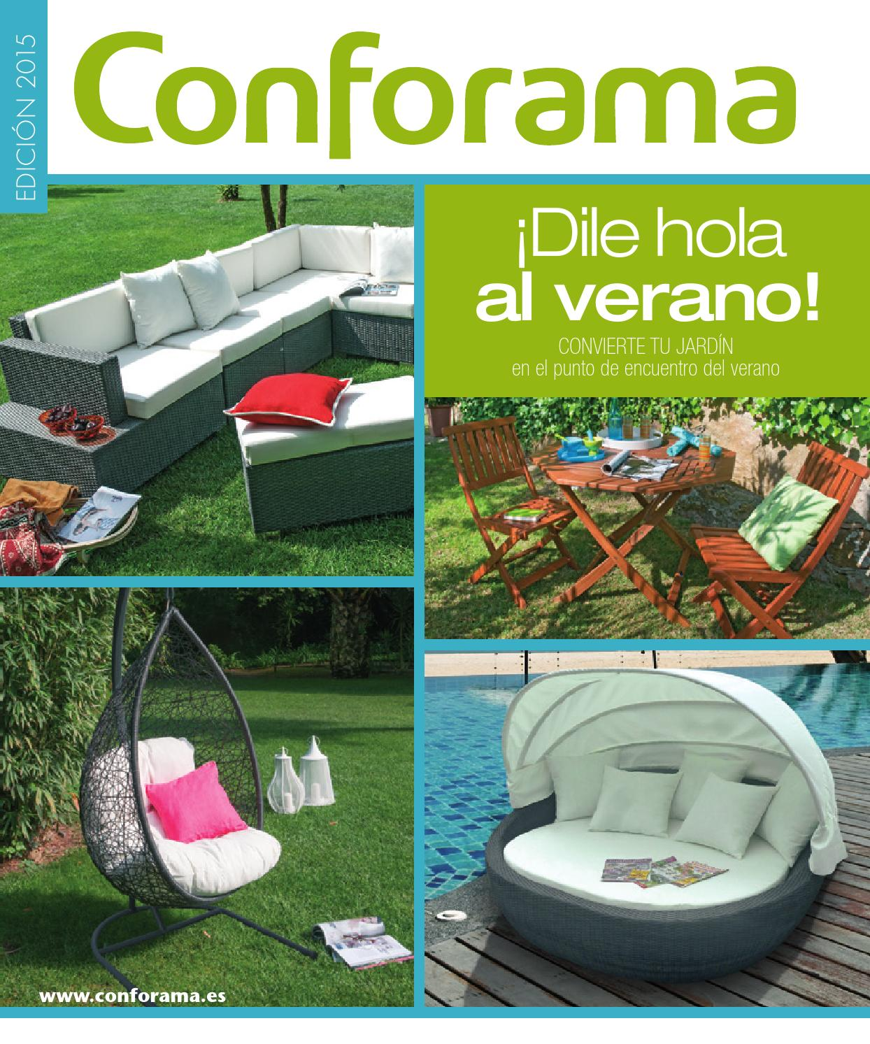 Muebles conforama jardin 2015 by losdescuentos - issuu