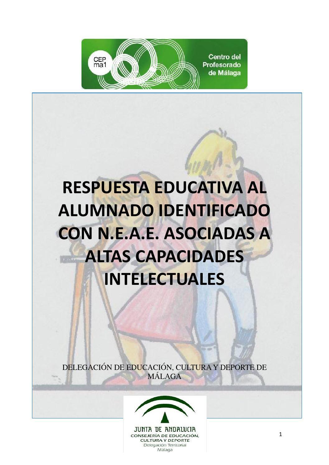 Guía práctica altas capacidades by Centro del Profesorado de Málaga ...