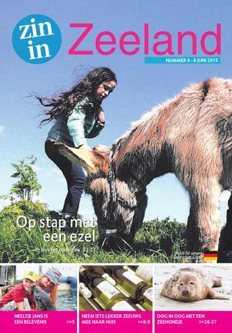Charlatan Bieweg Veere.Zin In Zeeland Nr 6 6 Juni 2015 By Pzc Issuu