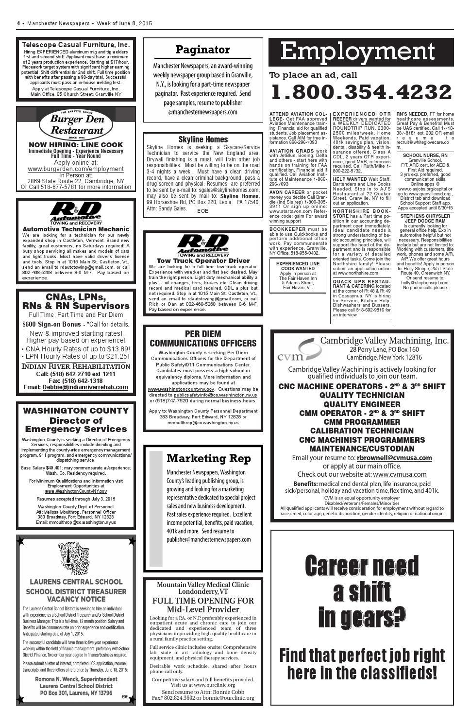 Classifieds 6 10 15 pdf web