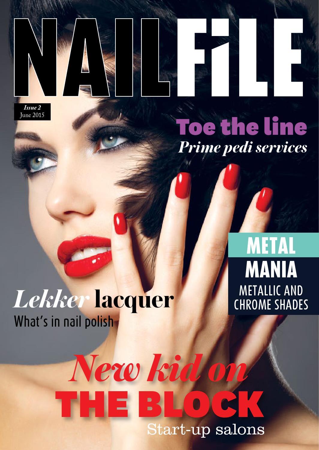 Nail file June 2015 by Professional Beauty SA - issuu