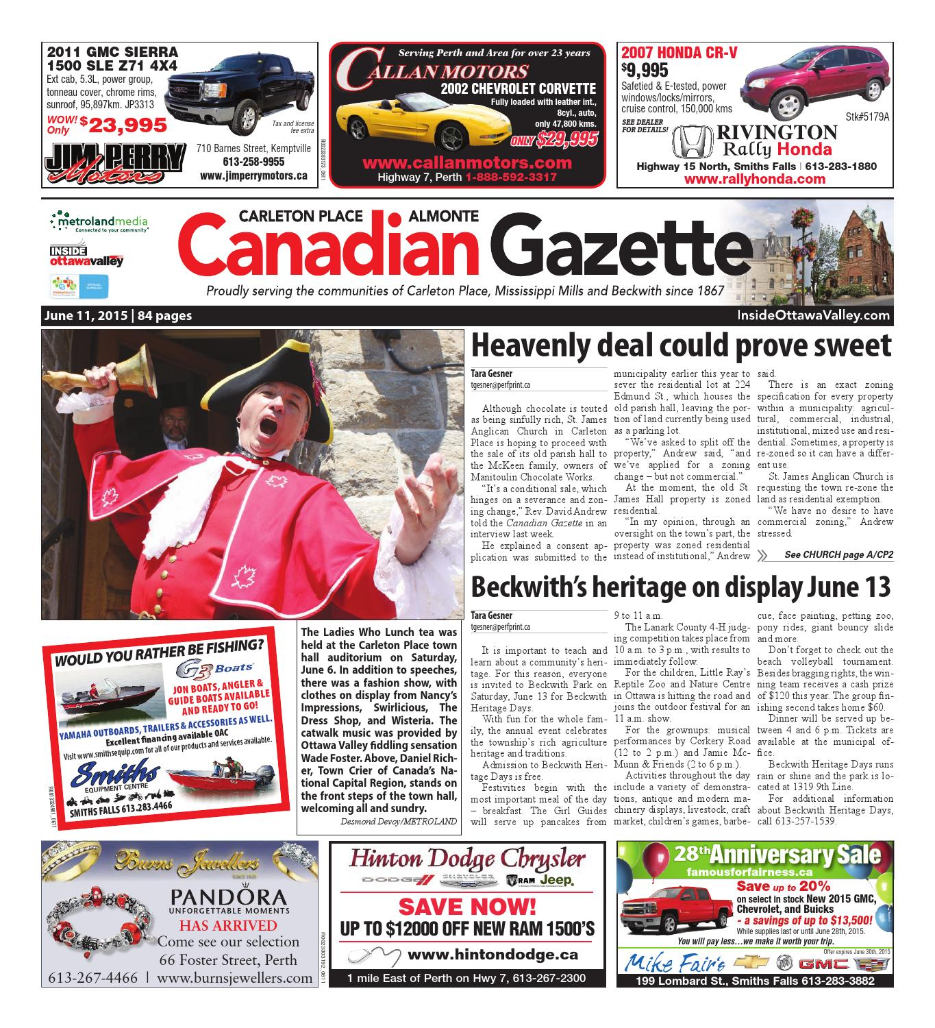 13774961d5a8 Almontecarletonplace061115 by Metroland East - Almonte Carleton Place  Canadian Gazette - issuu